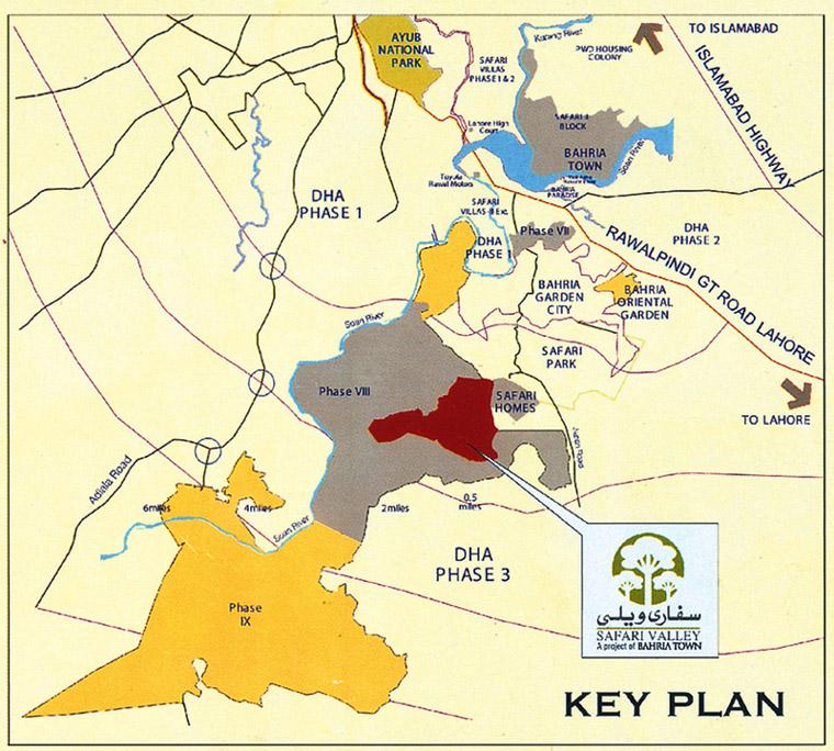 Bahria Town Rawalpindi: Phase 8 Ext Rawalpindi